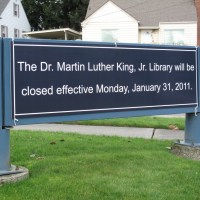 Dr. Martin Luther King, Jr. Library is Closing