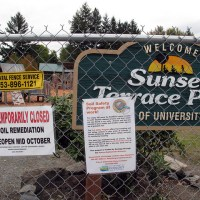 Sunset Terrace Park is Closed Today