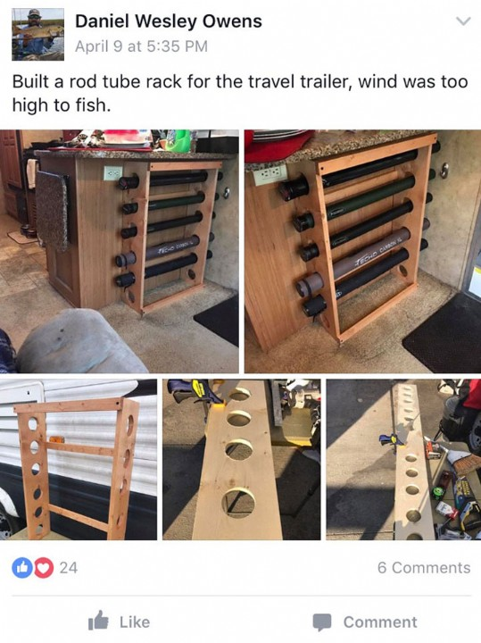 Letters From The Vice Diy Fly Rod Rack Blog Fishwest Com