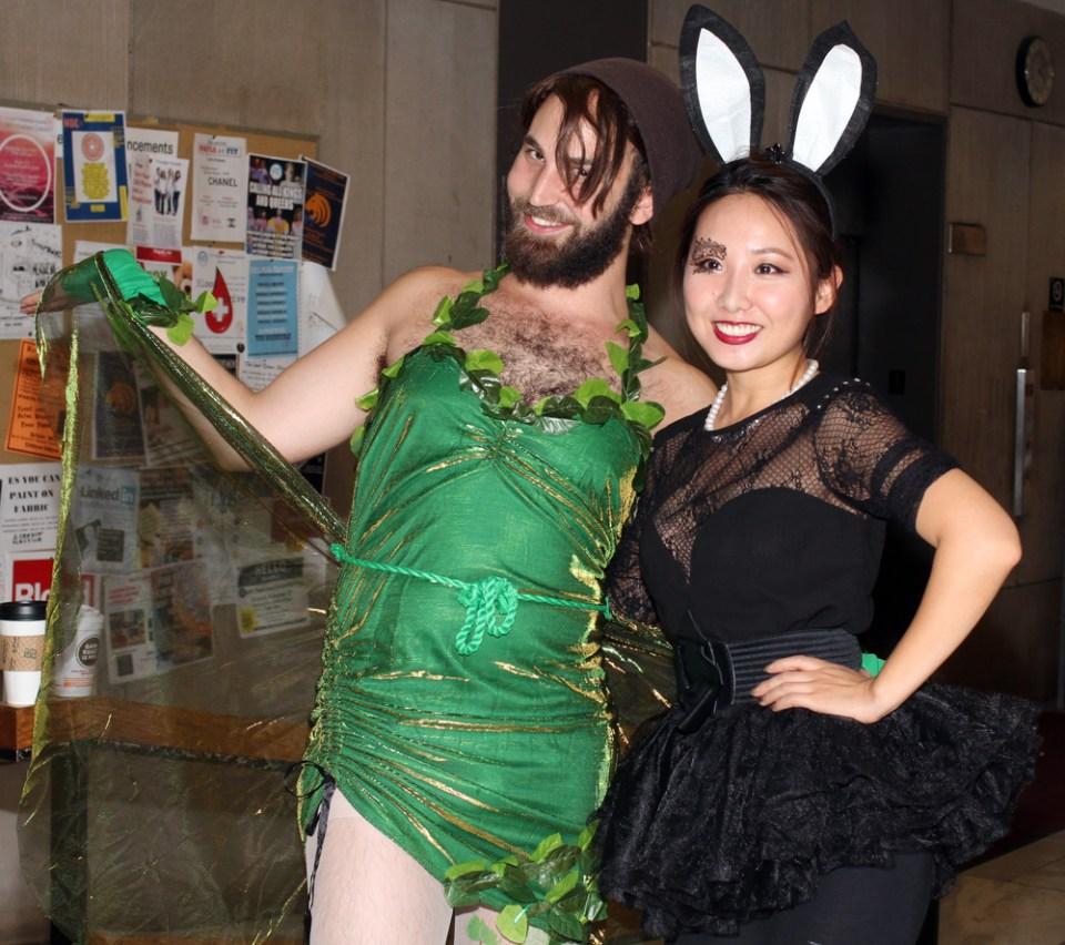 Puck & bunny rabbit