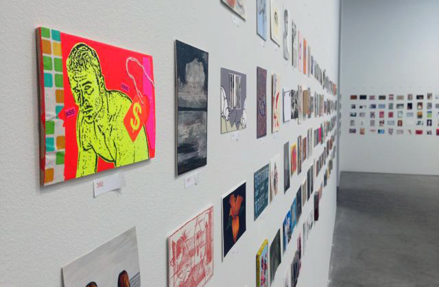 """""""Postcards from the Edge"""" exhibition. Photo courtesy of Visual AIDS"""