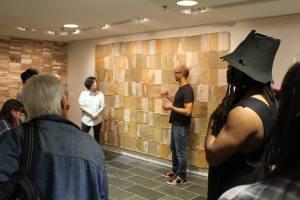 Artist Samuel Levi Jones talking about his work