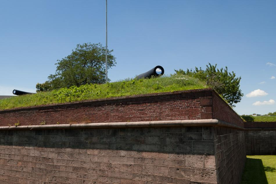 """""""Sky Cannon"""" by Brad Farwell, Governors Island"""