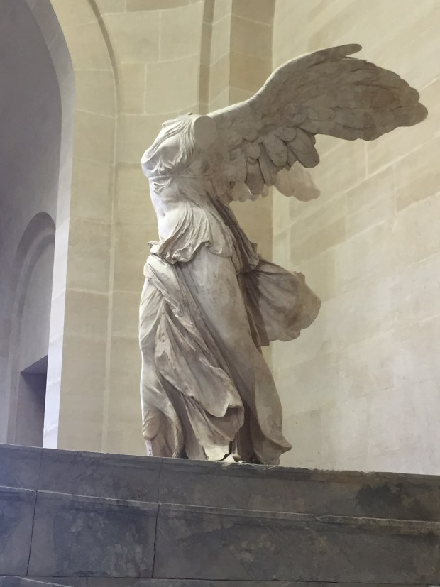 The Nike of Samothrace... a statue I've dreamed of seeing since I was 14 years old.