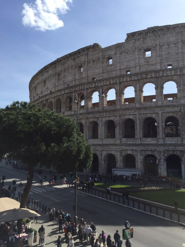 The Colosseum, in all it's glory.