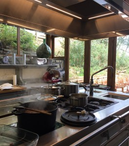 The Tuscan Ragu cooking in the kitchen!