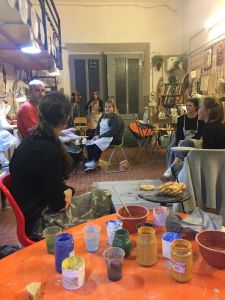 Learning the history of Ceramics in Florence