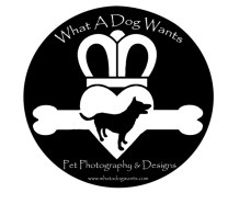 what a dog wants logo