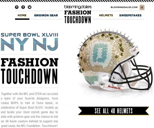 NFL fashion helmets