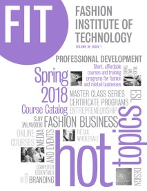 FIT hot topics spring 2018 course catalog