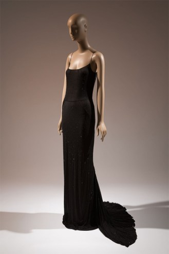 Lawrence Steele, dress, spring 2002, Italy. From Black Fashion Designers.