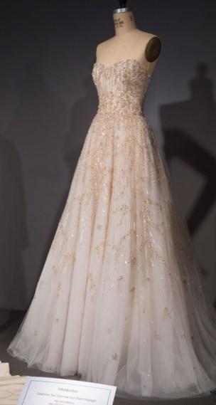 Amsale, wedding dress, fall 2016, USA. From Black Fashion Designers.