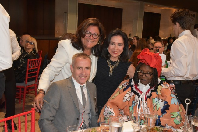 Thom Browne, Fern Mallis, Dr. Joyce Brown, Whoopi Goldberg