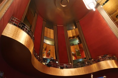 a view of the radio city balcony