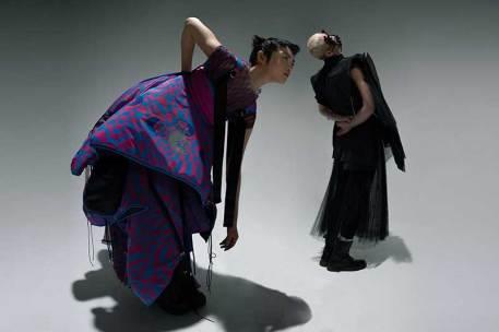 Emerging designers Margarita and Cristina Ng Ng (Ng2 Studios)