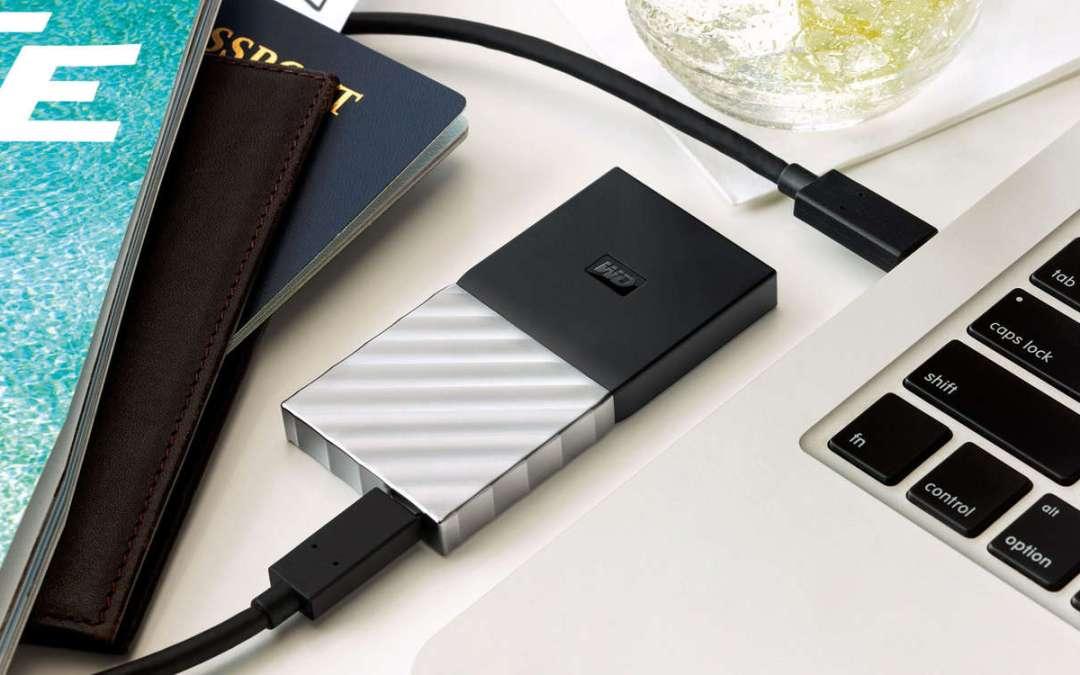 WD выпускает первый внешний SSD-накопитель для новых MacBook и MacBook Pro