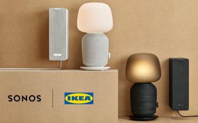 Sonos и Ikea в августе выпустят серию акустических систем Symfonisk с поддержкой AirPlay 2