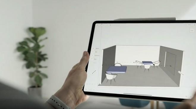 Лидар в iPad Pro образца 2020 года