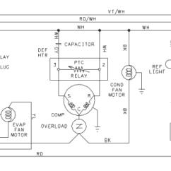 Amana Fridge Wiring Diagram 1998 Mitsubishi Lancer Refrigerator Not Defrosting, Model Bbi Bc2 Brf Sbd Sbi Srd Series - The Circuit