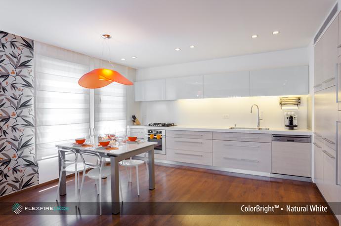 Under Cabinet Lighting With LED Strip Lights Flexfire LEDs Blog