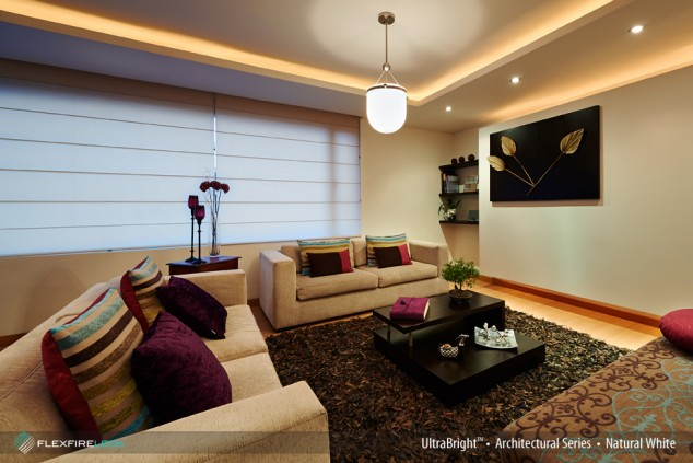 led light strips living room contemporary mirrors for how to create ambient lighting with strip
