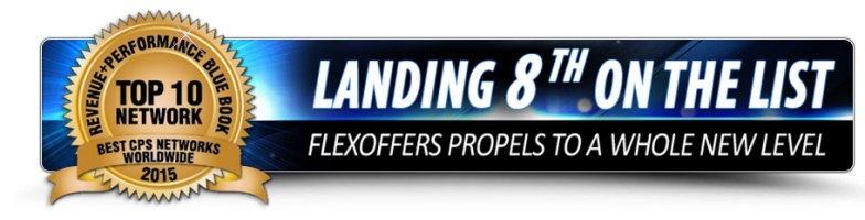 FlexOffers.com affiliate marketing sales promotional discount banner deals blue book survey 2015 mthink blog