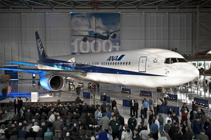 1000th Boeing 767 - ANA (All Nippon Airways) Boeing 767-300ER