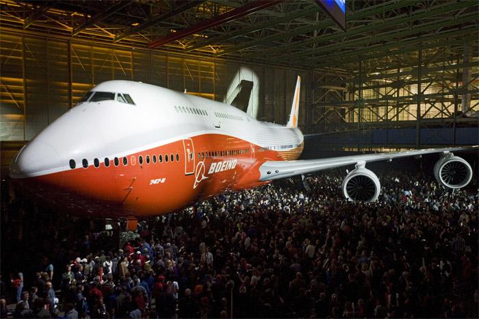 Boeing 747-8I Orange Livery