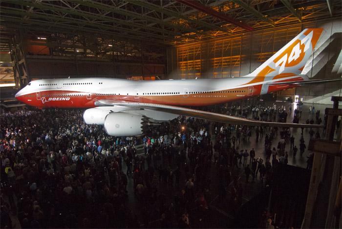 Boeing 747-8 Intercontinental Unveiled