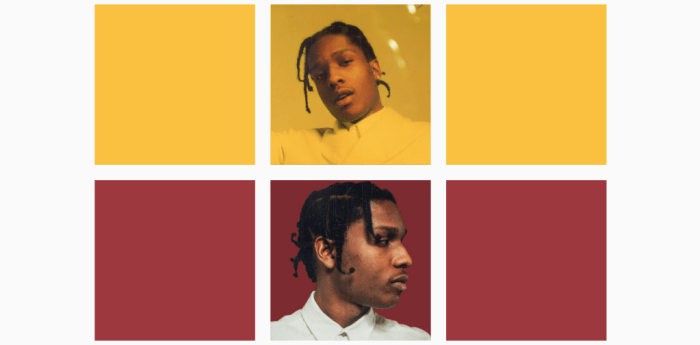 Asap Rocky Instagram Portfolio