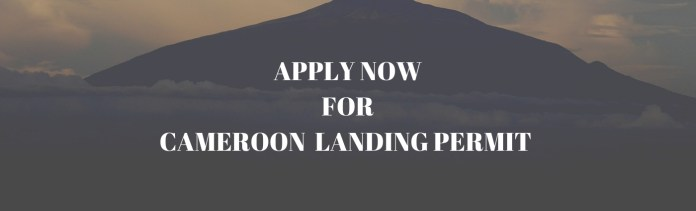 Apply to Cameroon Landing Permit