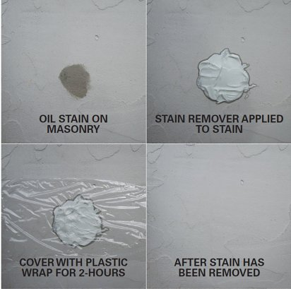 Glaze N Seal Oil Stain Remove