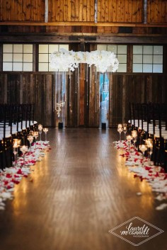 Flora Nova Design Seattle Luxury White Wedding Sodo Park Ceremony