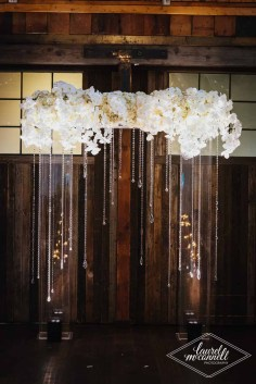 Flora Nova Design Seattle Luxury White Wedding Sodo Park Arch