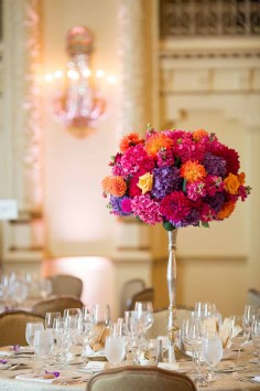 Flora Nova Design Seattle Indian Wedding Fairmont Olympic Hotel