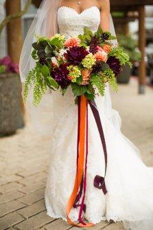 Flora Nova Design Seattle - Bridal Bouquet