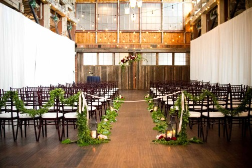 Flora Nova Design Seattle Garden SoDo Park Wedding