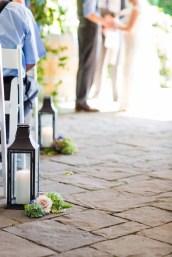 Flora Nova Design Seattle Outdoor Summer Wedding Delille Cellars Purple Blue Flowers