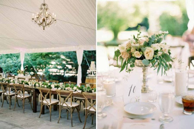 Flora Nova Design Seattle Romantic Garden Wedding