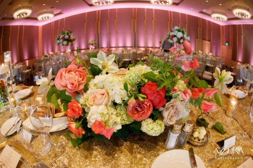 Luxury Four Seasons wedding Flora Nova Design Seattle