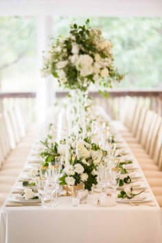 Elegant Summer Private Estate Wedding. Flora Nova Design Seattle