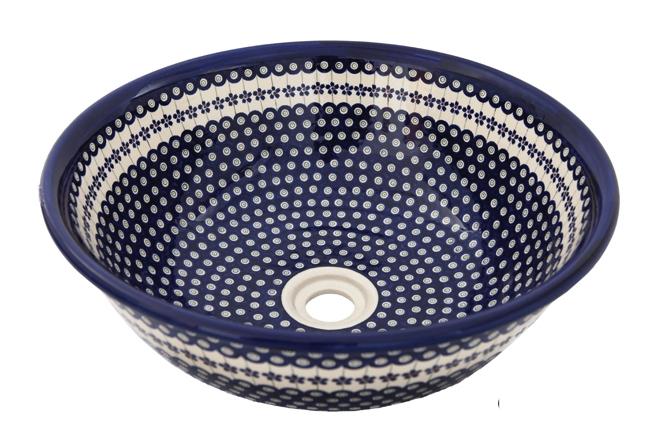 Handbemalte Waschbecken  Bunzlauer Keramik  Designer