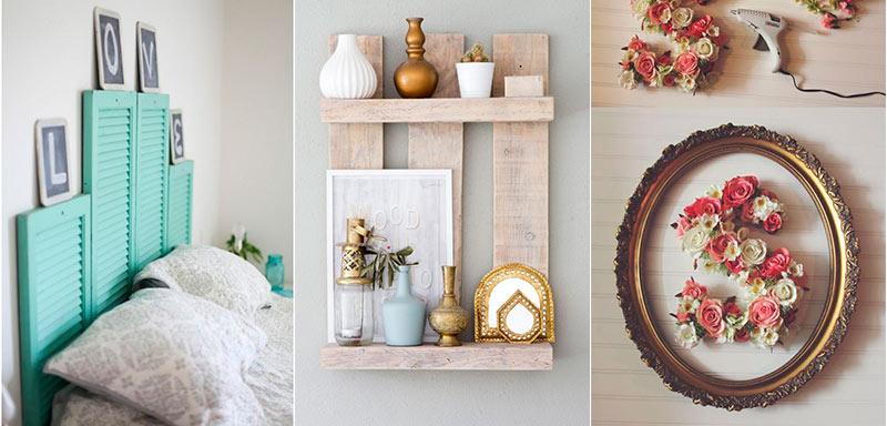 Ideas de decoracin DIY con materiales reciclados  Blog Flota