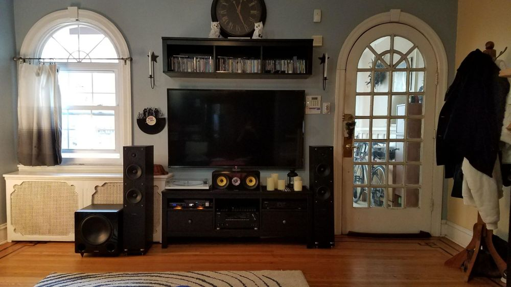 medium resolution of customer profile mike s 5 1 home theater system