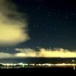 霧ヶ峰に昇るペルセウスーGR Digital IV によるタイムラプス