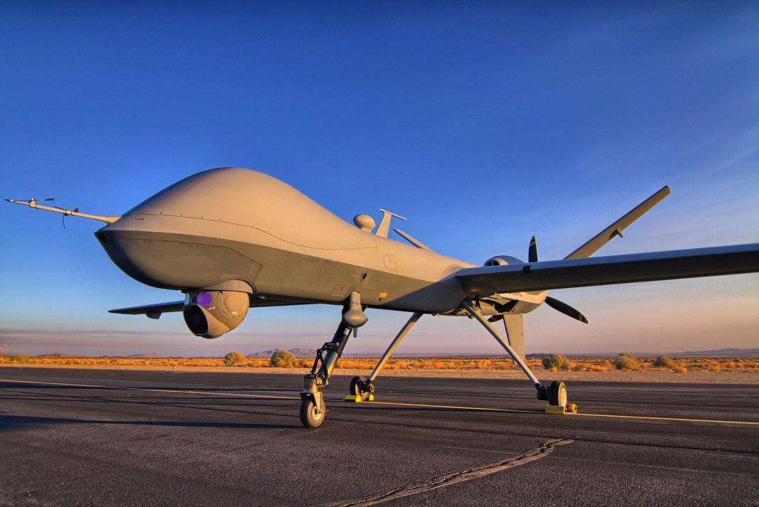 predator drones india
