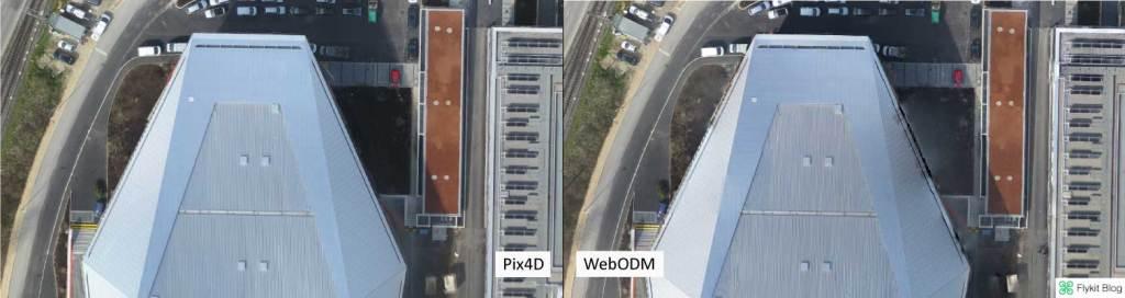 Pix4D vs WebODM - UAV Demo 2