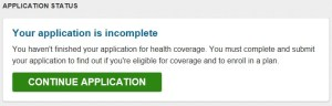 Healthcare Application incomplete