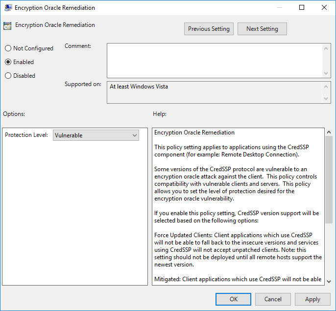 Remote Desktop Authentication Error Has Occurred  The function