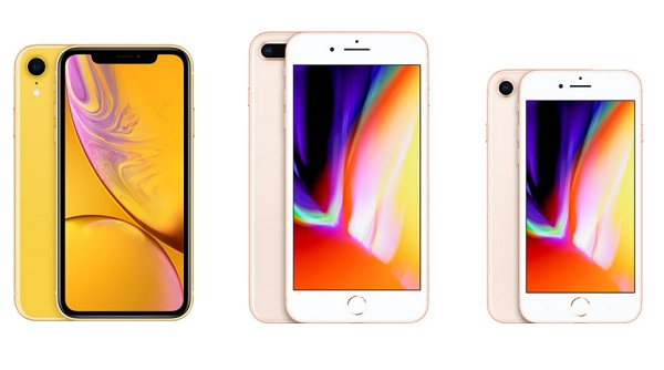 iPhone XR vs. iPhone 8 Plus vs. iPhone 8. What's the Difference?